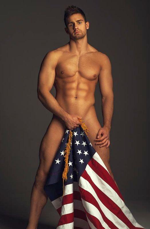 Naked man photo usa