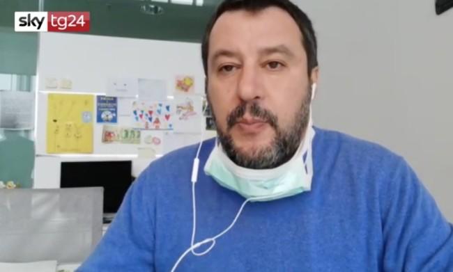 Coronavirus, Salvini: Mes pericoloso, Parlamento discuta e voti